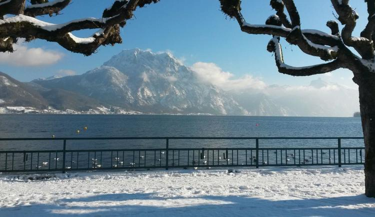 Winter am Traunsee
