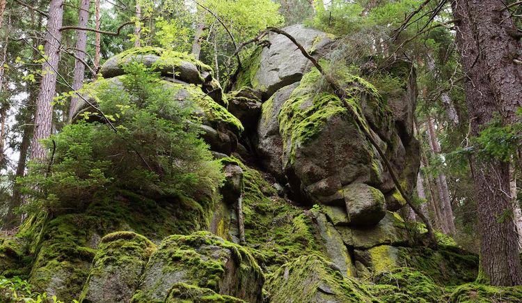 Granitformation. (© GreenBeltCenter)