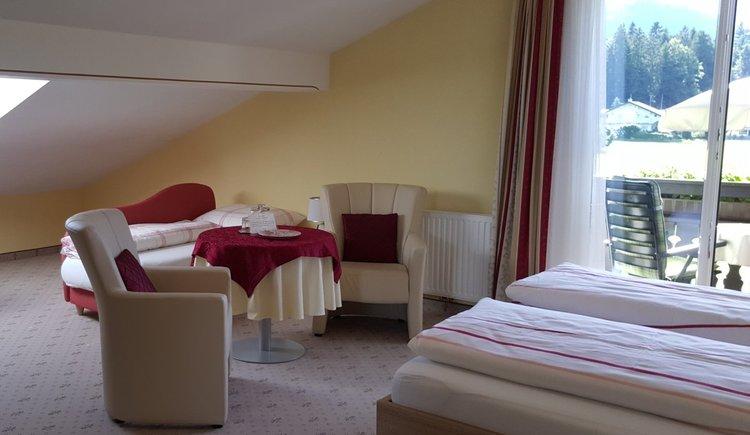 Zimmer mit 2. Obergeschoß Pension Schlömmer