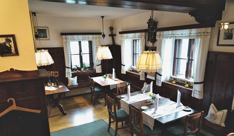 Stube Restaurant Litzlberger Keller in Seewalchen am Attersee ganzjährig. (© Familie Schmiedleitner)