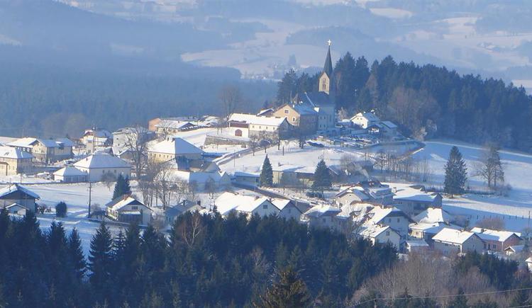 Winteraussicht  auf schwarzenberg