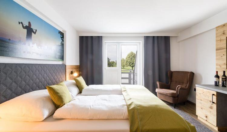 Lodge Doppelzimmer (© Golf Resort Kremstal GmbH)