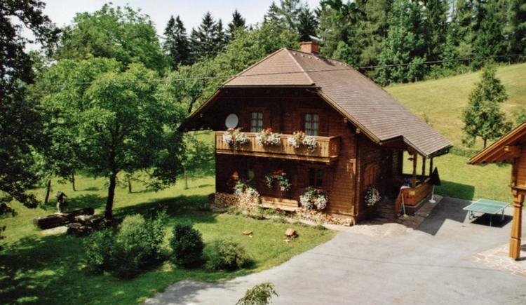 Bio-Blockhaus Koglerhütte in Roßleithen