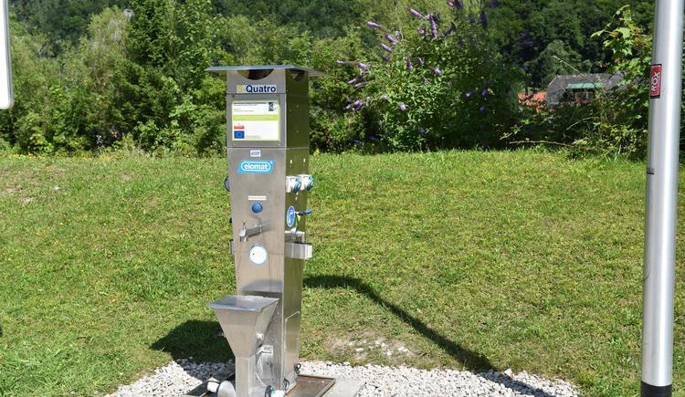 Versorgungsstation (© Tourismsubüro Ebensee)
