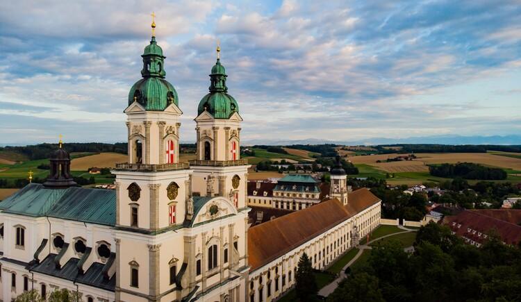 Das Stift St. Florian von oben.