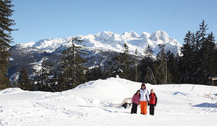 Winterwanderung in Gosau. (© Grill Elisabeth)