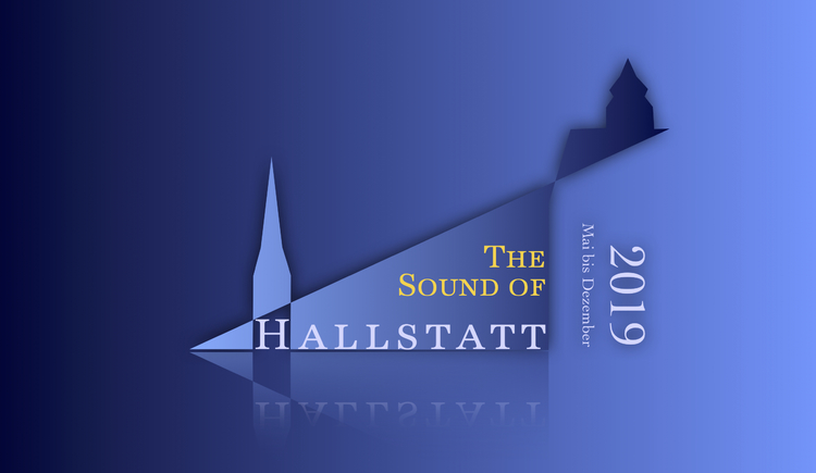 "The logo of this year's concert series ""The Sound of Hallstatt\""."