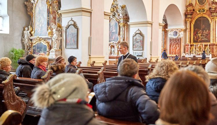 Stiftsführung im Stift Reichersberg