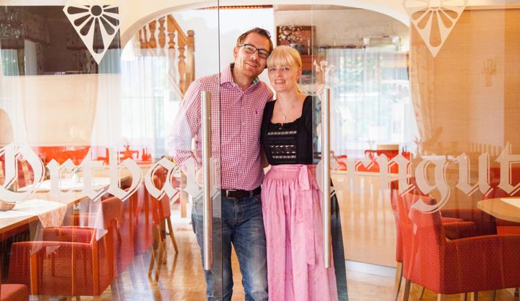 Ihre Gastgeber - Christine und Martin Aglas. (© Fam. Aglas)