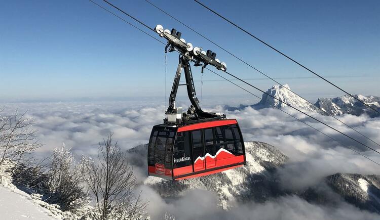 Feuerkogel Seilbahn im Winter (© Traunsee Touristik GmbH)