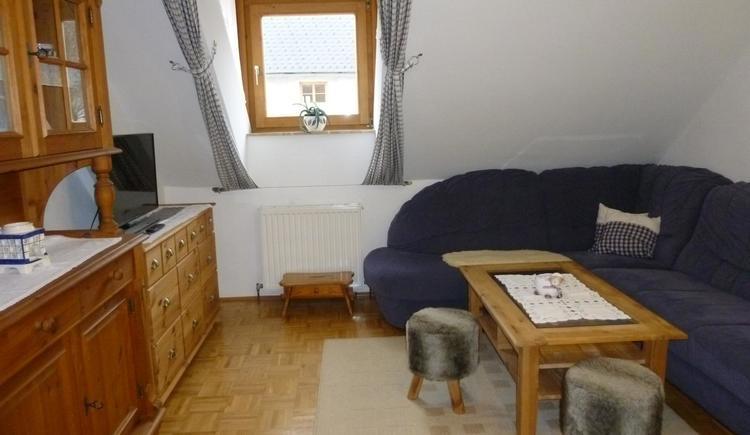 Wohnzimmer XXL Apartment Hirtenstube (© berger)