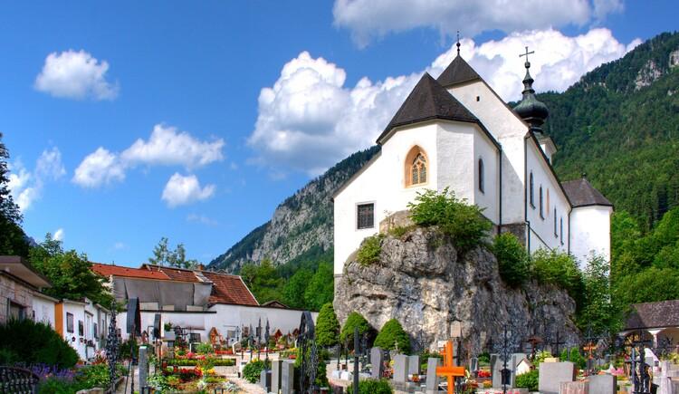 St. Leonhardikirche Friedhof (© TVB Pyhrn-Priel/Bruno Sulzbacher)