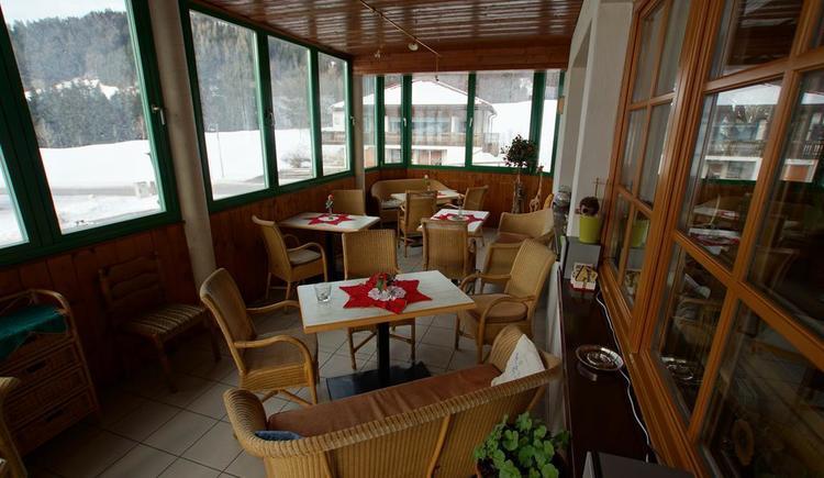 011-Wintergarten (© Pension Café Sophie)