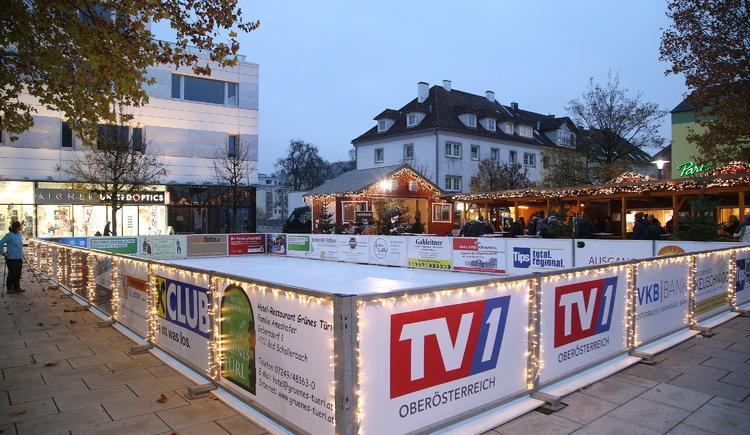 Eislaufplatz (© Tourismusverband Urlaubsregion Vitalwelt Bad Schallerbach)