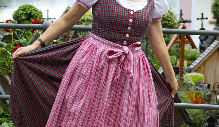 The traditional austrian Dress called \