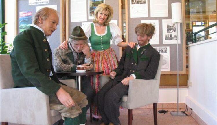 Klaus Maria Brandauer mit Freunden - `Figurenkabinett` (© Hermann Rastl / Tourismusverband Ausseerland-Salzkammergut)
