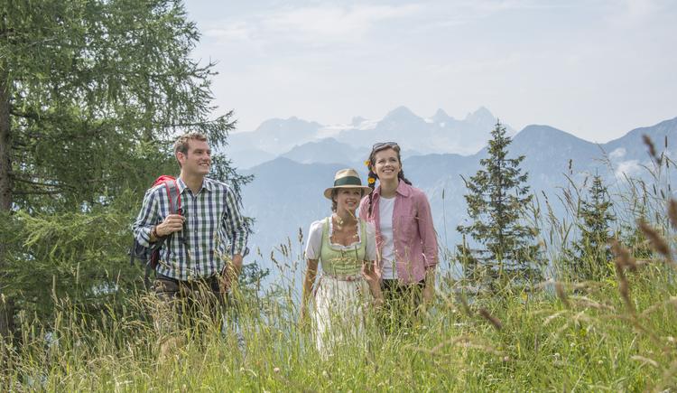 Wandern im Naturschutzgebiet Katrin Alm (© Wolfgang Stadler)