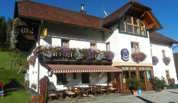 Gasthof-Pension Moosgierler im Sommer (© Moosgierler)
