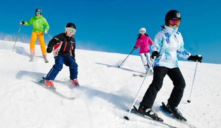 Skispaß für die ganze Familien (© Fuschlseeregion - Erber)