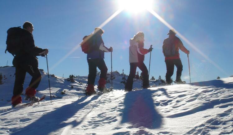 Schneeschuhwandern_Leben Extrem (© leben extrem - Berg- und Abenteuerschule)