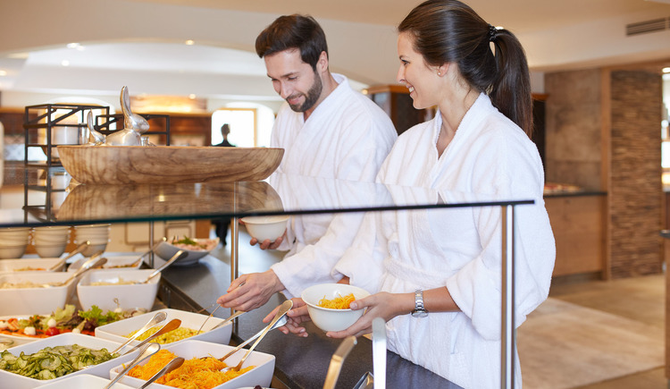 Hotel Guglwald****s Wellnessbuffet (© Hotel Guglwald)