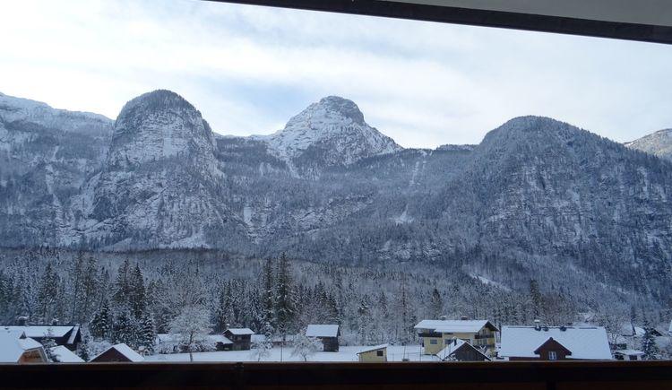 Blick auf Krippenstein von unserem Balkon