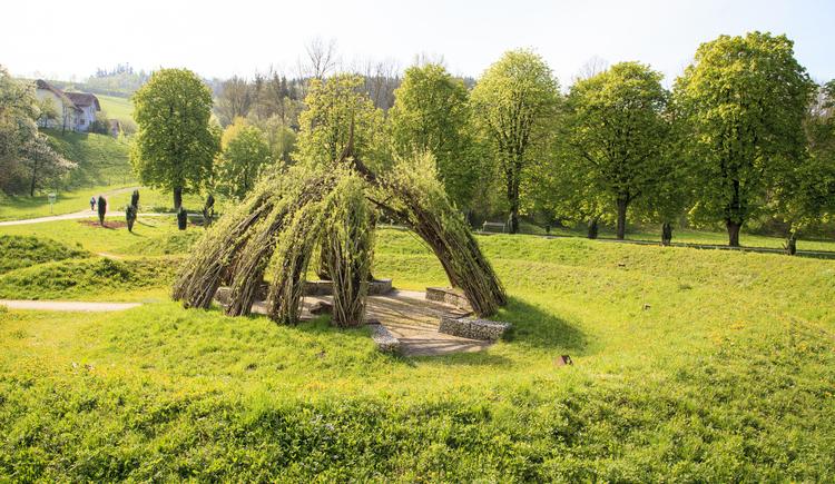 Botanica-Park Weidendom (© Tourismusverband Urlaubsregion Vitalwelt Bad Schallerbach / Mühlleitner)