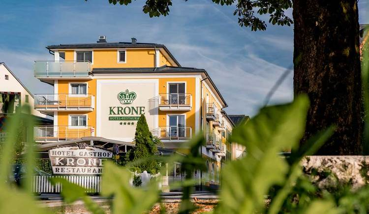 Blick auf das Hotel Restaurant Krone. (© Hotel Restaurant Krone)