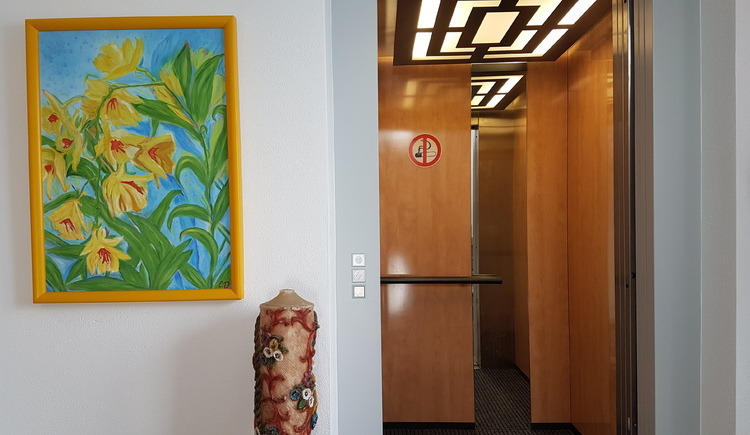 Lift im Appartementhaus Dobetsberger