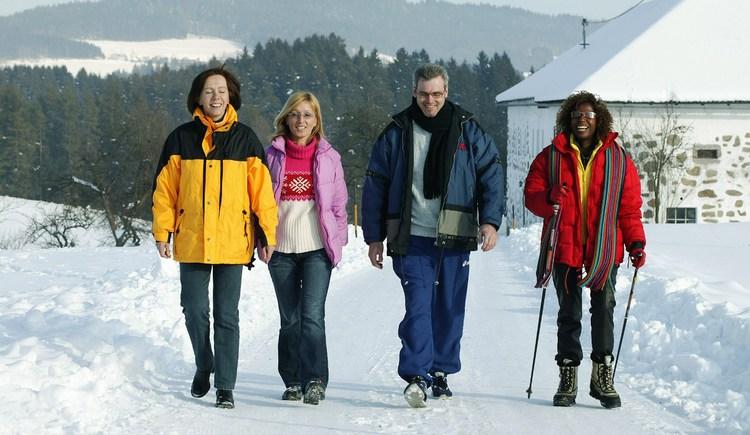 Schneewandern (© TV Bad Zell)