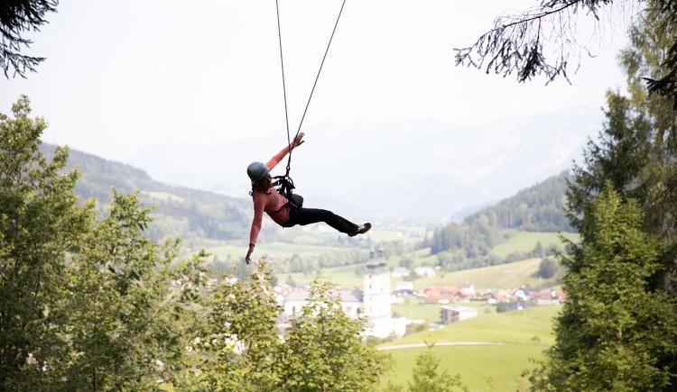 Riesenschaukel (© Abenteuer Management - Hinteramskogler)