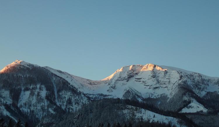 Blick im Winter vom Balkon (© Lindbichler)