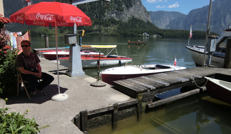 Take a boat ride and enjoy Lake Hallstatt.