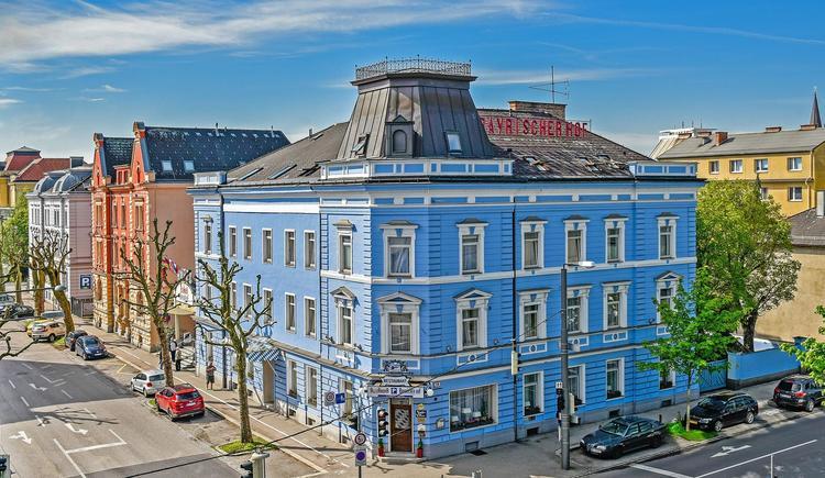 Außenansicht Hotel Bayrischer Hof, Wels