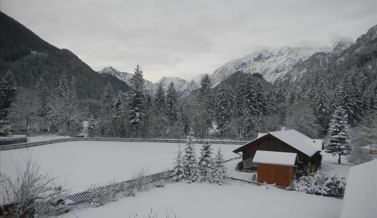Aussicht im Winter (© Edlinger)