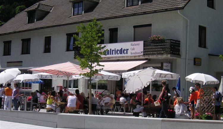 Cafe Konditorei Hohlrieder - Reichraming (© TVB Steyr und die Nationalpark Region)