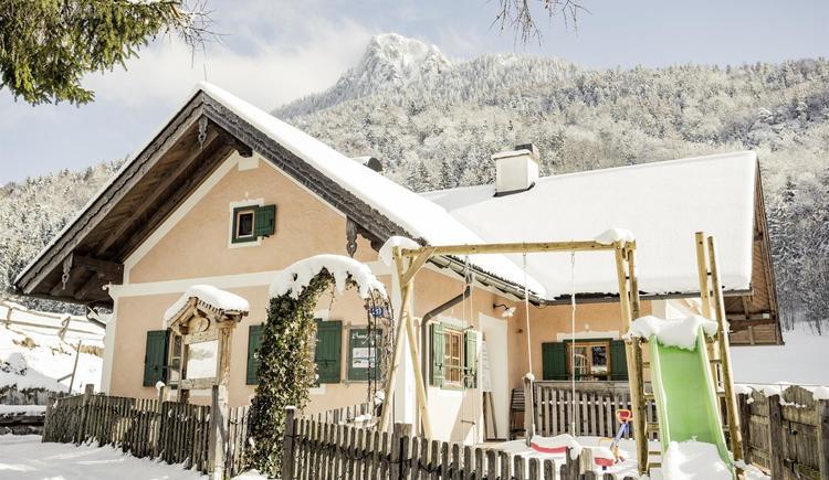 Waldhofalm Winter (© Ebner's Waldhof GmbH)