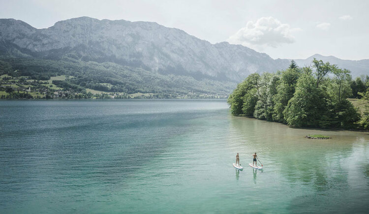 SUP am Attersee (© TVB Attersee-Attergau)