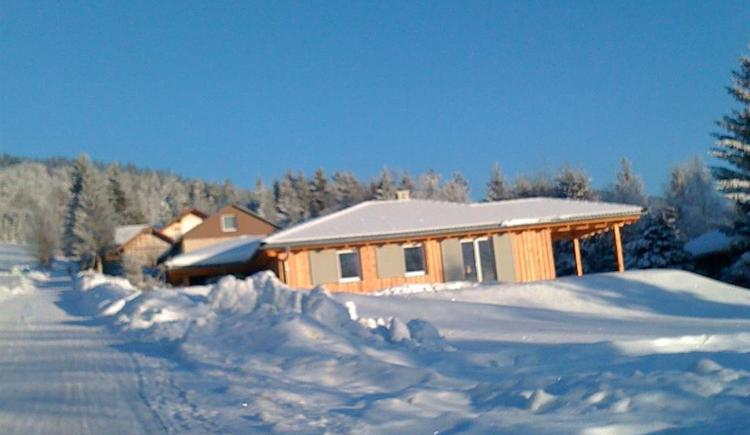 Ferienhaus Lisa im Winter (© Privat)