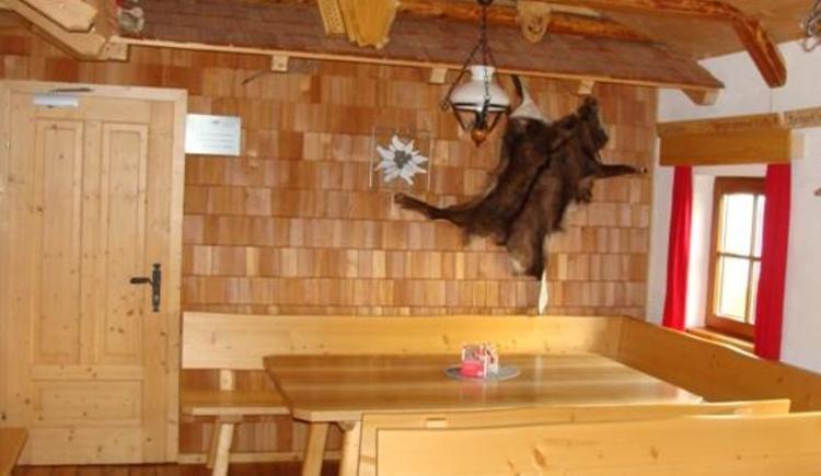 Gastzimmer klein (© Dümlerhütte)