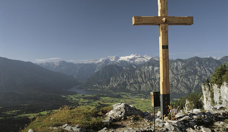 Vom Predigstuhl haben sie einen herrlichen Ausblick. (© Ferienregion Dachstein Salzkammergut)