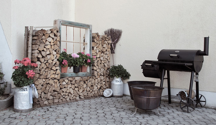 Grillplatz beim Stauferhof in Genstetten