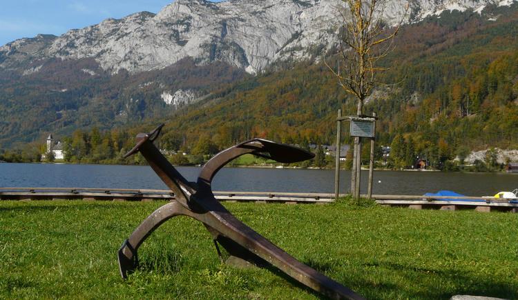 Rostiger Anker in Gößl am Grundlsee (© TVB Ausseerland - Salzkammergut_Rastl)