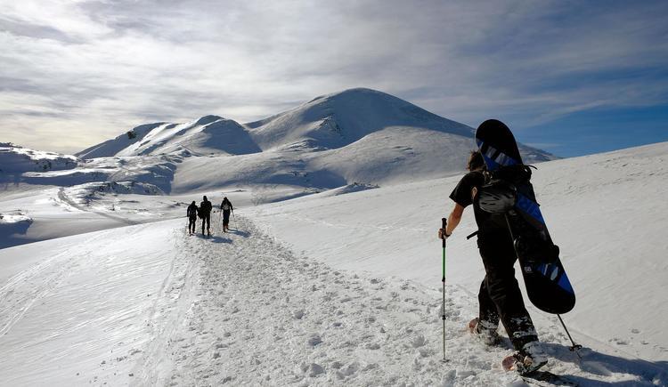 Schneeschuhwandern im Höllengebirge (© Rudolf Kirth)