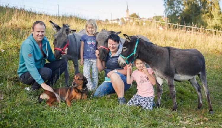 Familie Gál (© Esel & Ziegehof Bad Leonfelden)