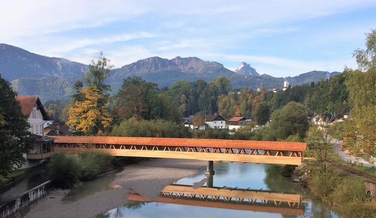 Hofmühlersteg über die Alm (© Foto Holzbau Bammer Scharnstein)