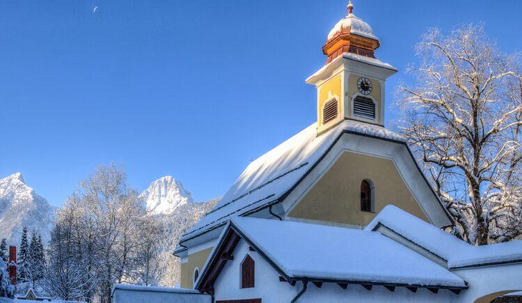 Hinterstoder Kirche (© TVB Pyhrn-Priel/Bruno Sulzbacher)