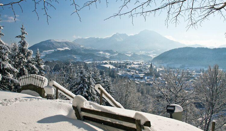 Blick auf Windischgarsten winterlich (© TVB Pyhrn-Priel/Bruno Sulzbacher)