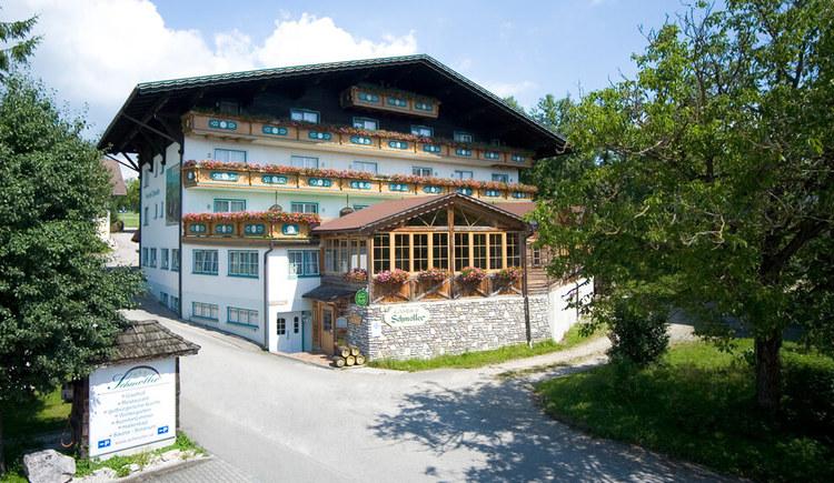 Hausansicht Hotel Schmoller, Berg im Attergau (© Christine Schmoller)