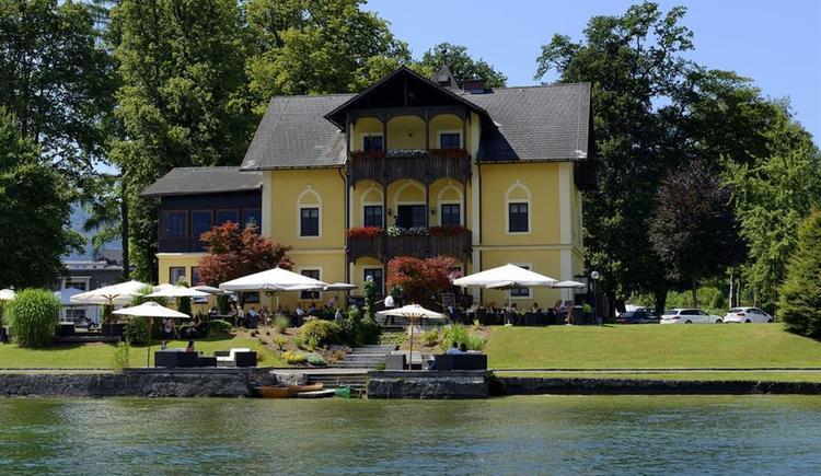 Restaurant_Spitzvilla_ Sommer (© MTV Ferienregion Traunsee - brainpark.traunsee)